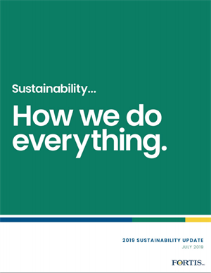 July 2019 Sustainability Report Cover