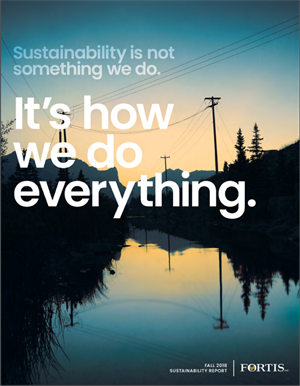 October 2018 Sustainability Report Cover