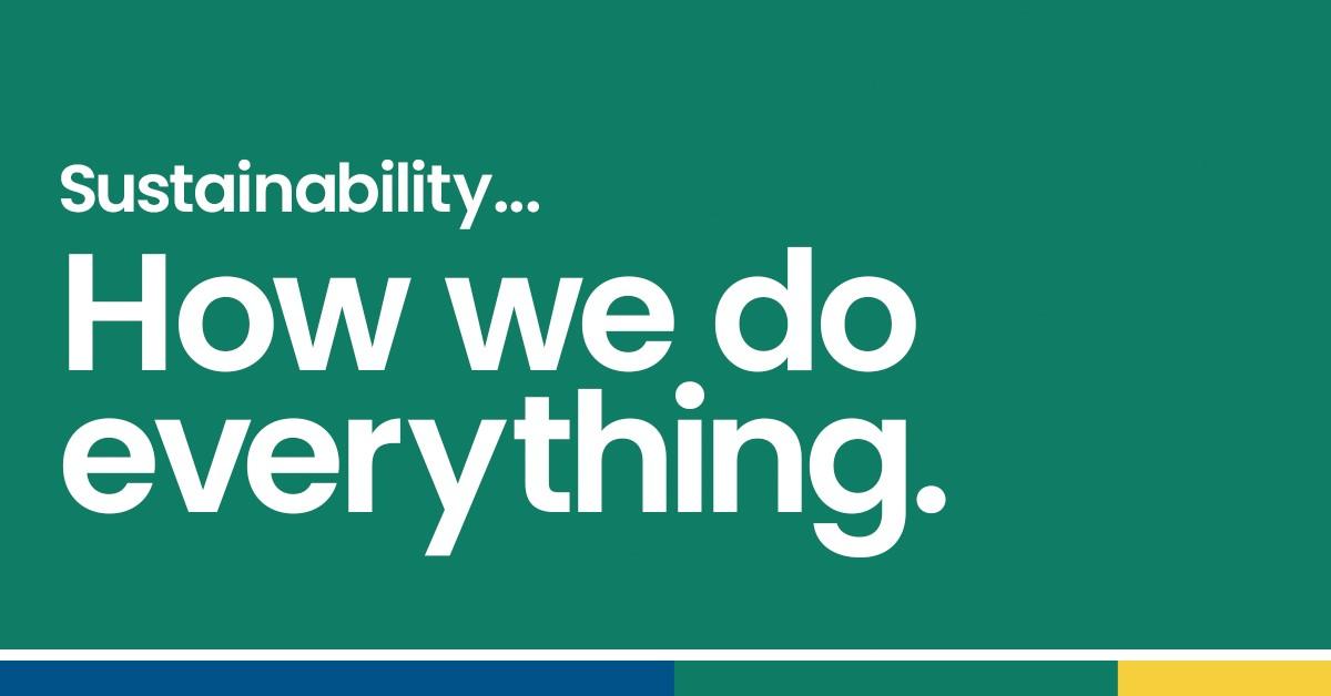 sustainability slider