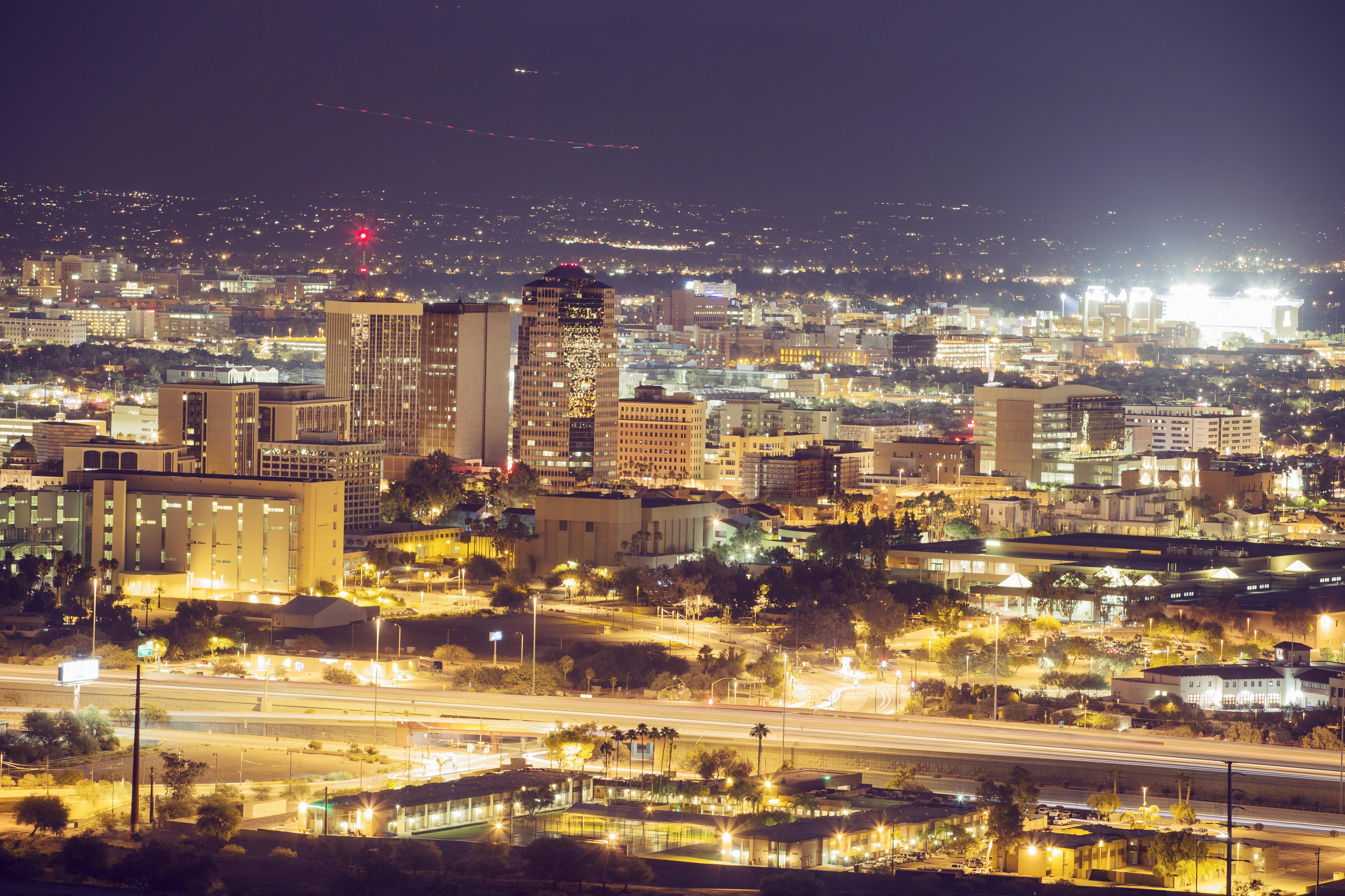Tucson Evening Cityscape2 edit